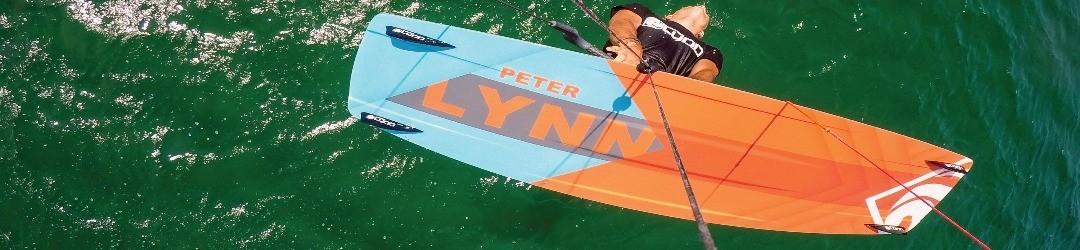 Prancha kiteboarding